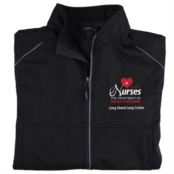 TEAM WEAR Core 365® Men's Three-Layer Knit Full-Zip Jacket - Personalization Available