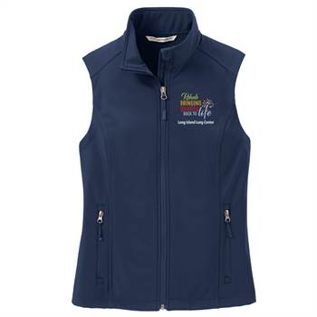TEAM WEAR Port Authority® Women's Core Soft Shell Vest - Personalization Available