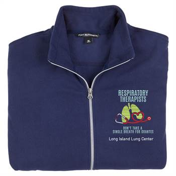 TEAM WEAR Port Authority® Women's Full-Zip Microfleece Jacket - Personalization Available