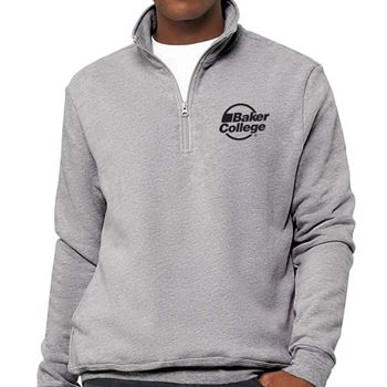 Bella+Canvas Unisex Fast Fashion Quarter Zip Pullover Fleece - Personalization Available