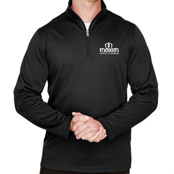 Harriton Men's Advantage Snag Protection Plus IL Quarter-Zip - Personalization Available