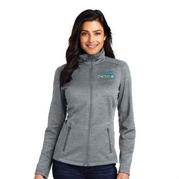 Port Authority® Women's Digi Stripe Fleece Jacket - Personalization Available