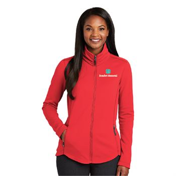 Port Authority® Women's Collective Smooth Fleece Jacket - Personalization Available