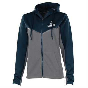 Women's Seaport Full Zip Hoodie - Personalization Available