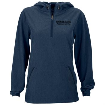 Women's Pullover Stretch Anorak - Personalization Available