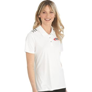 Adidas® Women's 3-Stripes Chest Sport Shirt - Personalization Available