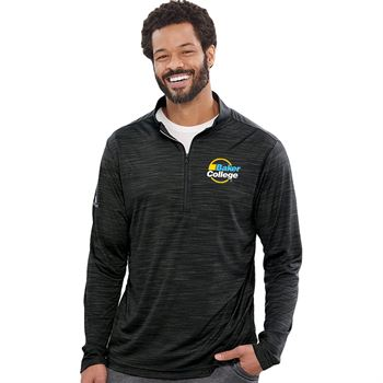 Adidas® Men's Lightweight Melange Quarter-Zip Pullover - Personalization Available