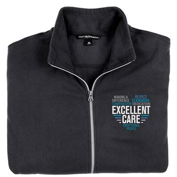 Men's Port Authority® Full-Zip Microfleece Jacket - Personalization Available
