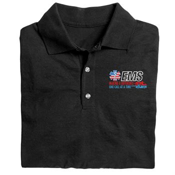 EMS Making A Difference One Call At A Time Gildan® DryBlend Jersey Polo - Personalization Available