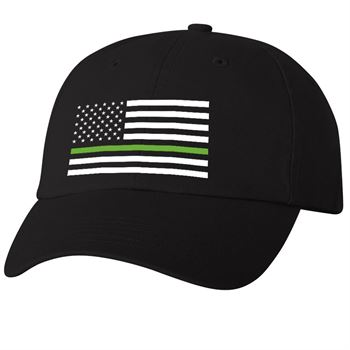 Thin Green Line Dad's Cap
