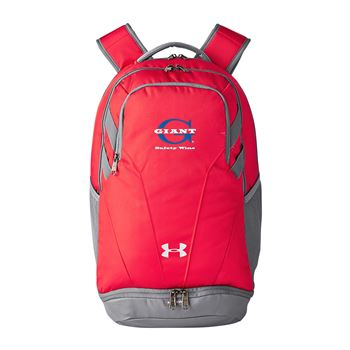 Under Armour® Hustle II Backpack - Personalization Available