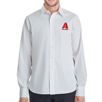 Devin & Jones® Crown Collection™ Stretch Broadcloth Untucked Shirt - Personalization Available