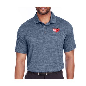 Puma Golf Men's Icon Heather Polo - Personalization Available