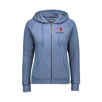 MV Sport® Women's Stockton Angel Fleece Full Zip Hoodie - Personalization Available