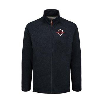 MV Sport® Men's Weatherproof Vintage 2 Tone Sweaterfleece Full Zip - Personalization Available