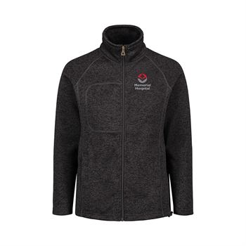 MV Sport® Women's Weatherproof Vintage 2 Tone Sweaterfleece Full Zip - Personalization Available