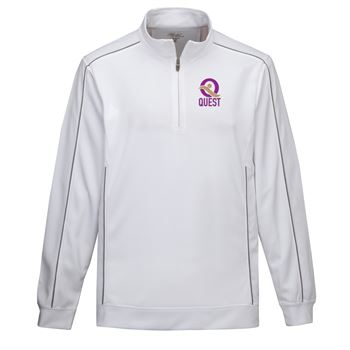 Tri-Mountain® Men's Durham 1/4 Zip Pullover Sweater - Personalization Available