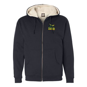 Independent Trading Co.® Unisex Sherpa-Lined Full-Zip Hooded Sweatshirt - Personalization Available