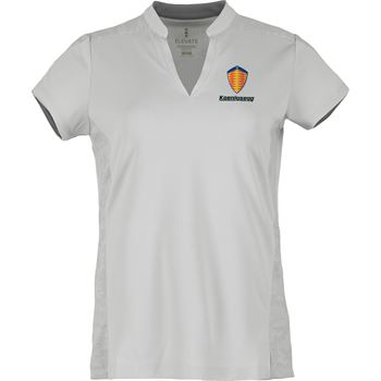 Elevate® Women's Piedmont Short Sleeve Polo - Personalization Available