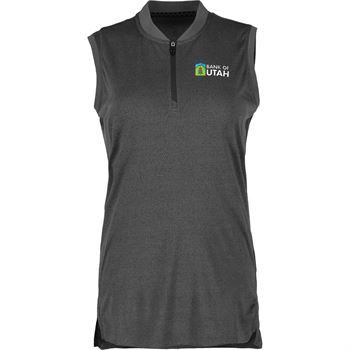 Elevate® Women's Kinport Sleeveless Polo - Personalization Available