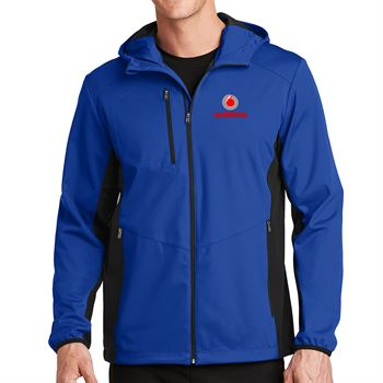 Port Authority® Men's Active Hooded Soft Shell Jacket - Personalization Available