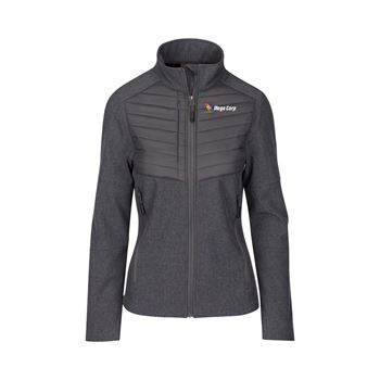 Fossa Apparel Women's Aurora Soft Shell Jacket - Personalization Available