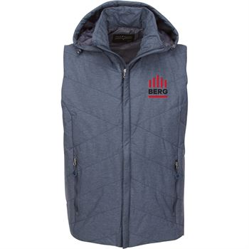 Fossa Apparel Men's Jupiter Puffer Vest - Personalization Available