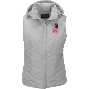 Fossa Apparel Women's Jupiter Puffer Vest - Personalization Available