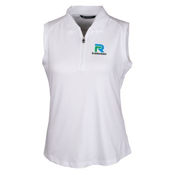 Cutter & Buck® Women's Forge Sleeveless Polo - Personalization Available