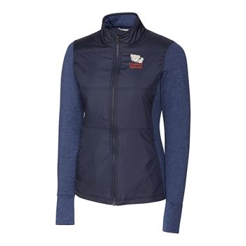 Cutter & Buck® Women's Long Sleeve Stealth Full Zip - Personalization Available