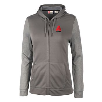 Clique® By Cutter & Buck® Women's Helsa Sport Colorblock Full-Zip Sweater - Personalization Available