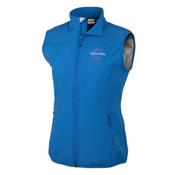 Clique� By Cutter & Buck� Women's Trail Soft Shell Vest - Personalization Available