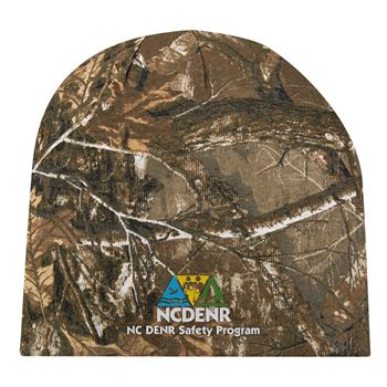 Realtree and Mossy Oak Camouflage Beanie - Personalization Available
