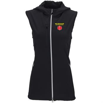 Greg Norman Women's Windbreaker Full-Zip Hooded Vest - Personalization Available