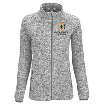 Women's Summit Sweater-Fleece Jacket - Personalization Available