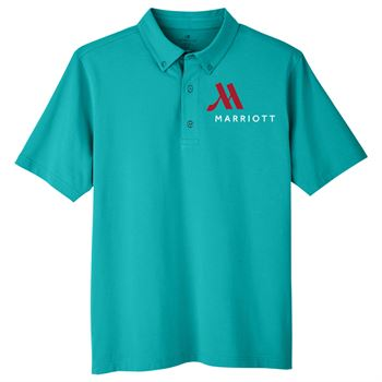 UltraClub Men's Lakeshore Stretch Cotton Performance Polo - Personalization Available