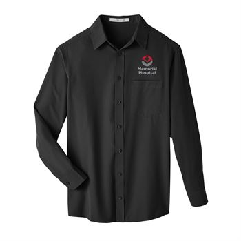UltraClub Men's Bradley Performance Woven Shirt - Personalization Available