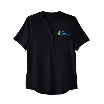 North End Women's Jaq Snap-Up Stretch Performance Polo - Personalization Available