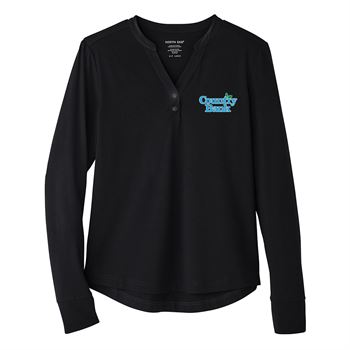 North End Women's Jaq Snap-Up Stretch Performance Pullover - Personalization Available