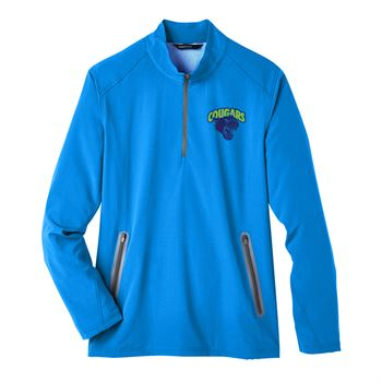 North End Men's Quest Stretch Quarter-Zip - Personalization Available