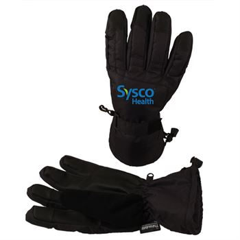 Men's Touchscreen Ski Gloves - Personalization Available