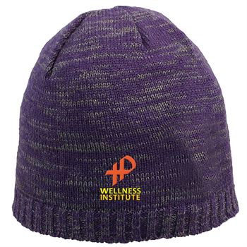 Marble Knit Beanie - Personalization Available