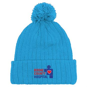 Beanie With Pom - Personalization Available
