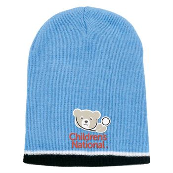 Tri-Color Beanie - Personalization Available