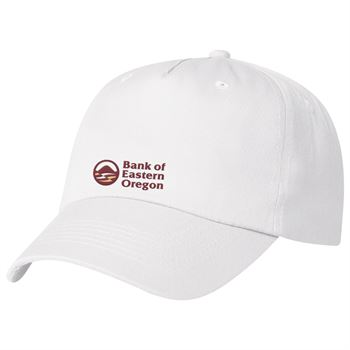 5 Panel Polyester Cap - Personalization Available