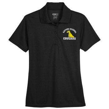 Core 365™ Women's Short-Sleeve Pique Polo - Personalization Optional