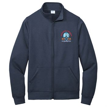 Respiratory Care Port & Company® Core Fleece Cadet Full-Zip Sweatshirt - Personalization Available