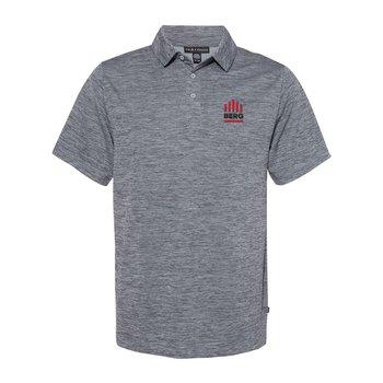 Prim + Preux Men's Heather Pique Sport Shirt - Personalization Available