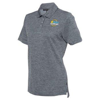 Prim + Preux Women's Heather Pique Sport Shirt - Personalization Available