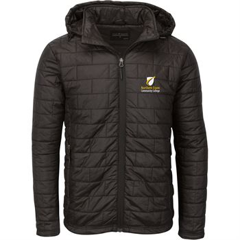 Fossa® Apparel Men's Microburst Puffer Jacket - Embroidery Personalization Available